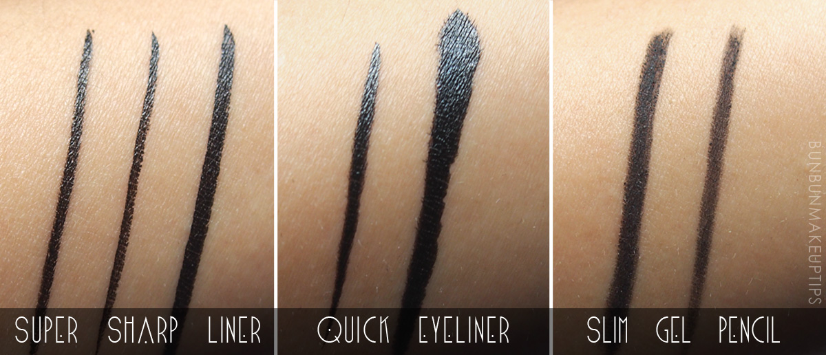 Kate-Super-Sharp-Liner,-Quick-Eyeliner,-Slim-Gel-Pencil-Review-Swatches_1