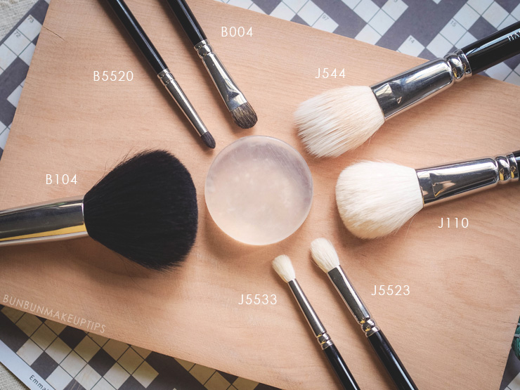 Make-Up-Store-Brush-Cleansing-Soap-VS-Hakuhodo-Brush-Soap_Hakuhodo-Brushes