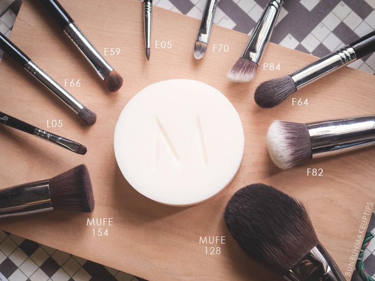 Make-Up-Store-Brush-Cleansing-Soap-VS-Hakuhodo-Brush-Soap_Synthetic-Brushes
