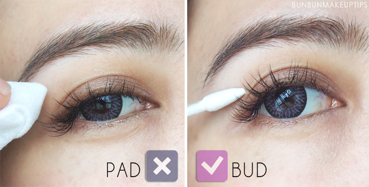How-To-Take-Care-Of-Eyelash-Extensions-So-They-Last-A-Long-Time_Cotton-Bud