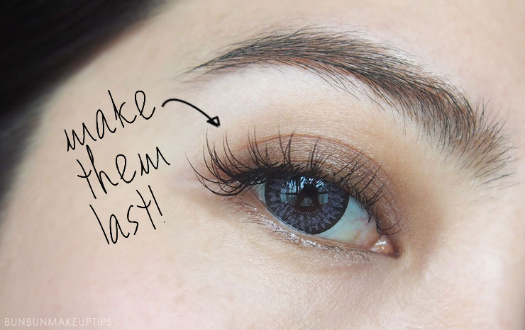12 Useful Tips To Make Your Eyelash Extensions Last A Long ...