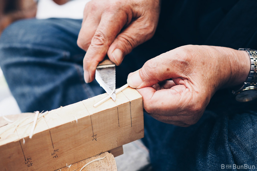 Japan-Yokohama-Toothpick-Making-Ninja-Samurai-Training_3
