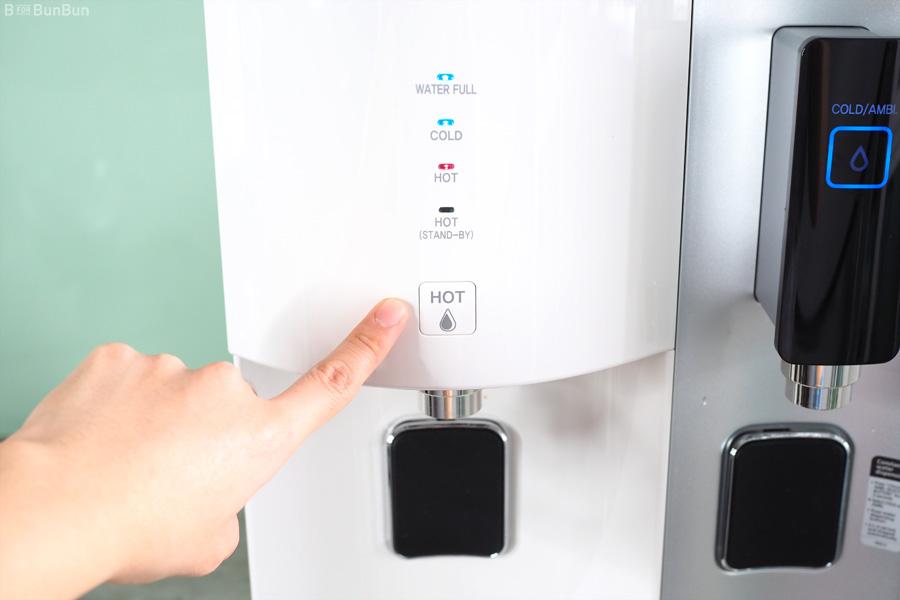 Asian hot water dispenser